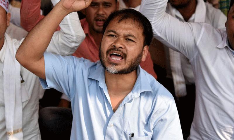 akhil gogoi will contest election