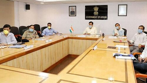Assam Cabinet Meeting Today