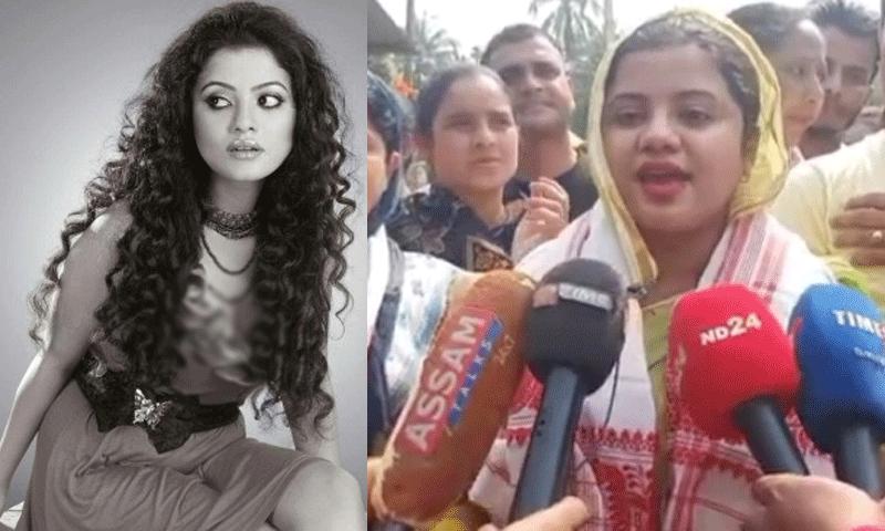 Actress Tehshin Akhtar