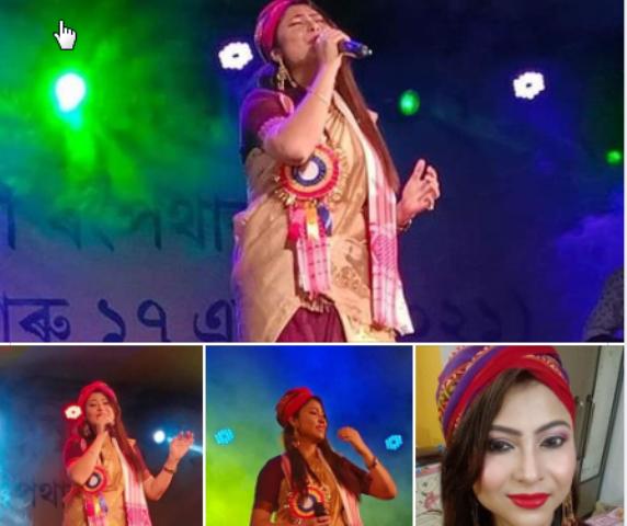 Assamese Singer Parbin pori